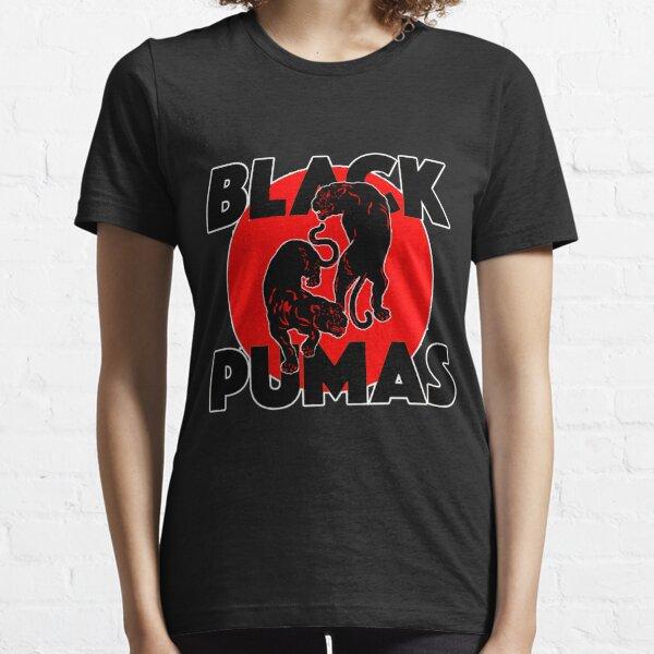 pumas negros Camiseta esencial