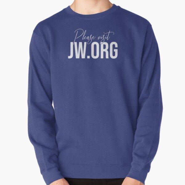Please visit JW.ORG Pullover Sweatshirt