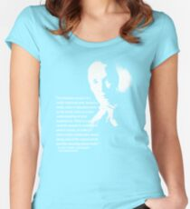 jane goodall Women's Fitted Scoop T-Shirt