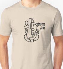 Ganesh Ganesa Ganapati 5 (black) T-Shirt