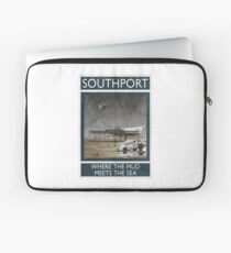 Southport - Where The Mud Meets The Sea Laptop Sleeve