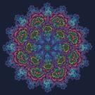 Bluemungus mandala by Matthew Sergison-Main