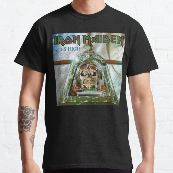 Tendencias - Maiden Aces High Camiseta clásica