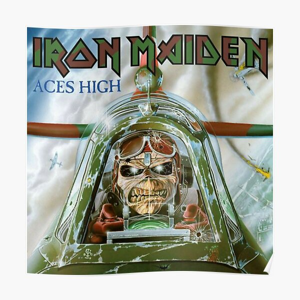 Tendance - Maiden Aces High Poster