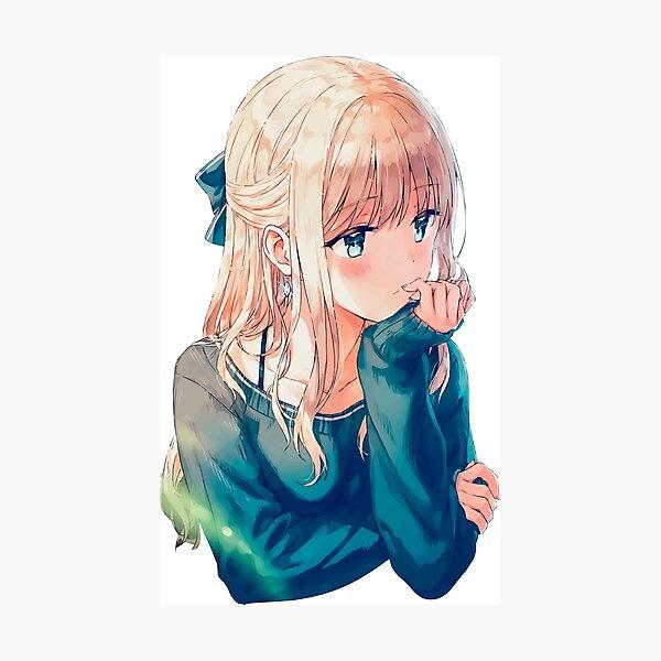 Anime Girl 051 Photographic Print
