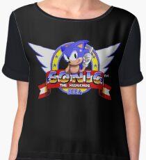 Sonic retro logo Chiffon Top