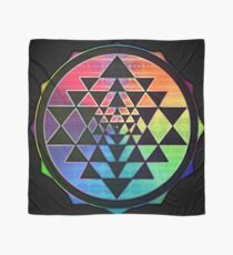 Rainbow Sri Yantra for Love & Wealth Scarf