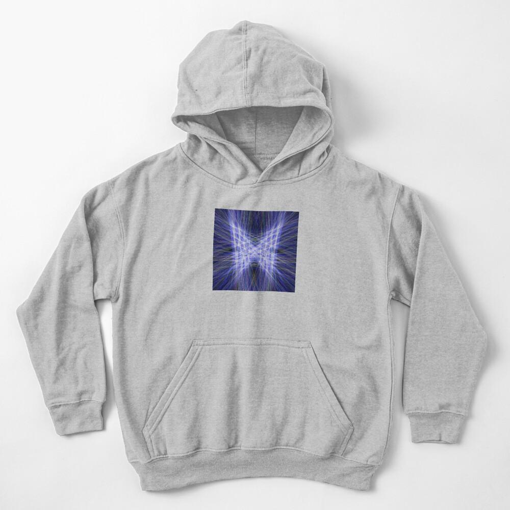 Laser Butterfly Kids Pullover Hoodie