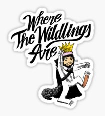 Where The Wildlings Are Sticker