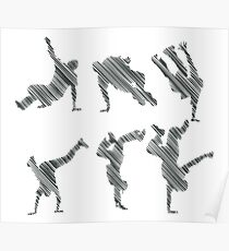 Breakdance-Draw Poster