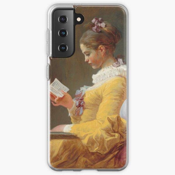 Jean-Honoré Fragonard - A Young Girl Reading (La Liseuse) 1770 Samsung Galaxy Soft Case