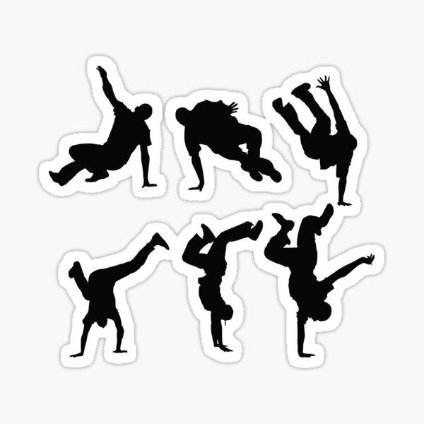 Breakdancing Sticker
