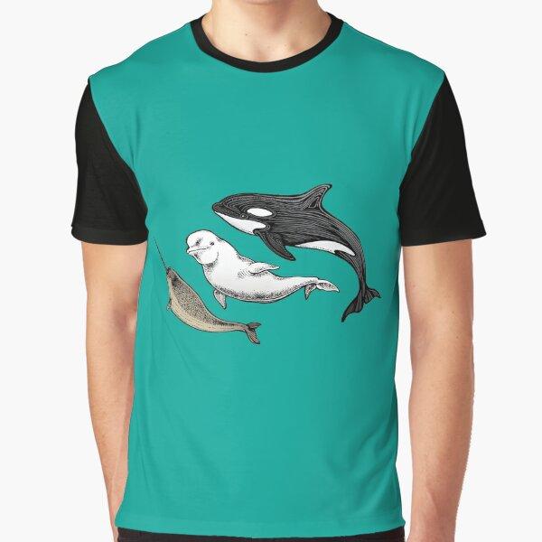 Three ocean friends Graphic T-Shirt