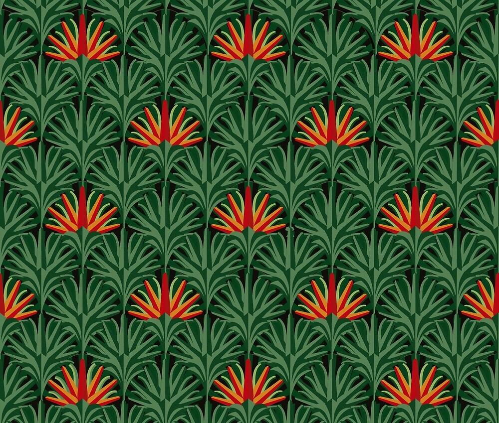 Jungle Thrills - Summer Flowers by Carter & Rickard