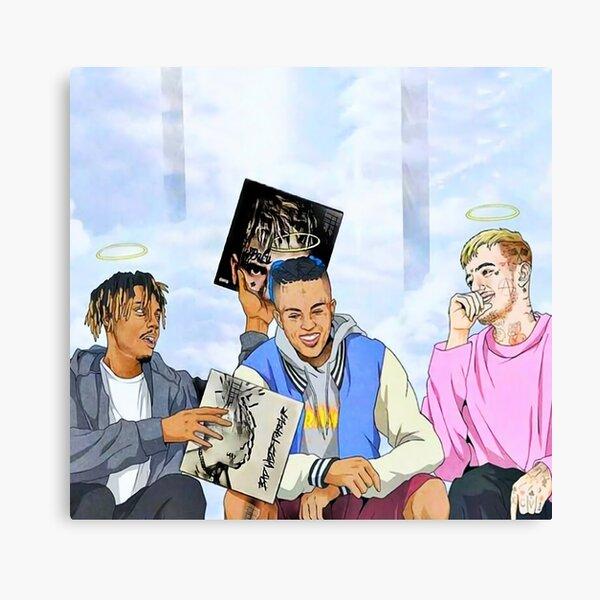 Rap Lil Peeps Friends Canvas Print