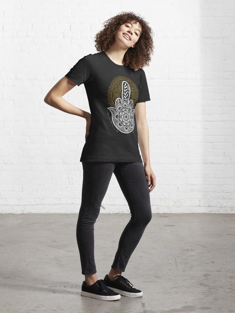 Alternate view of Zero Namaste Given Essential T-Shirt