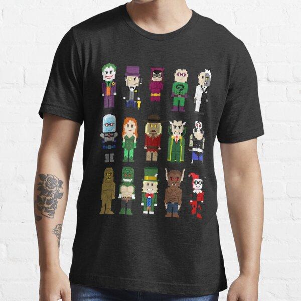 8-Bit Super Heroes: ROGUES! Essential T-Shirt