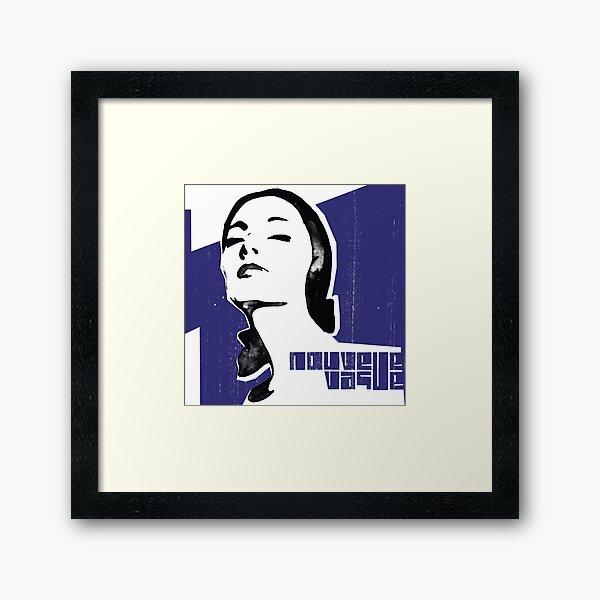 nouvelle vague band Framed Art Print