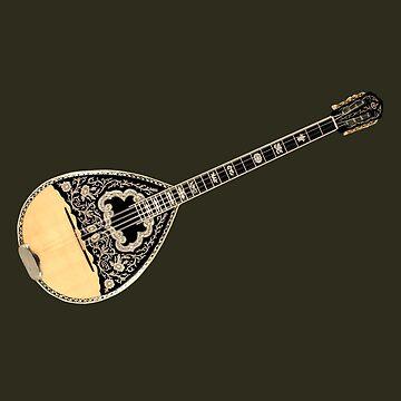 Wonderful Greek Bouzouki 8 Strings by siban