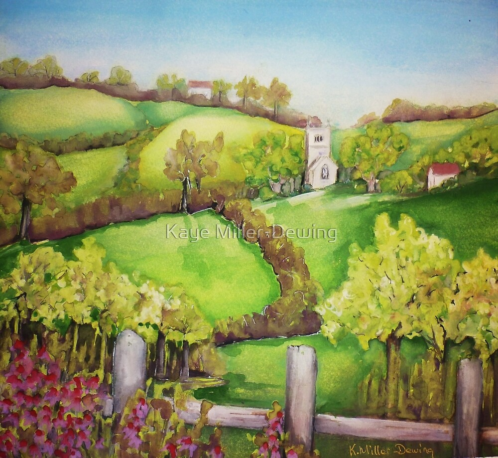 Hilly Fields by Kaye Miller-Dewing