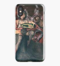 Vintage Sci-Fi 3 iPhone Case/Skin