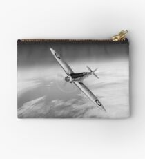 Silver Spitfire PRMk XIX PS852 black and white version Studio Pouch