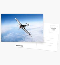Silver Spitfire PRMk XIX PS852  Postcards