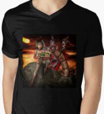 Vintage Sci-Fi 4 Men's V-Neck T-Shirt