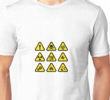 Danger signs Unisex T-Shirt