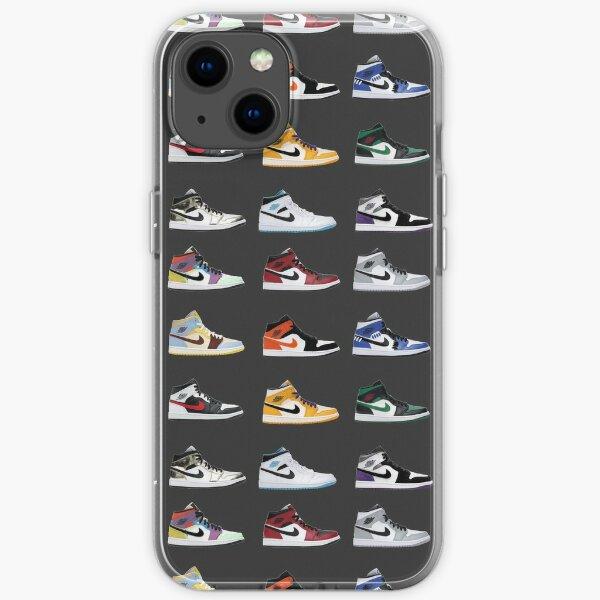 Funda Iphone e Funda Jordan 1 Mid Display Funda blanda para iPhone