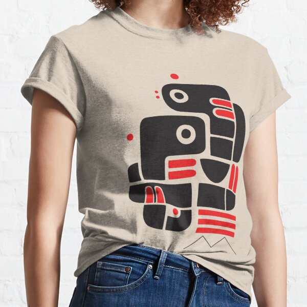 Two lovers, one bench Classic T-Shirt