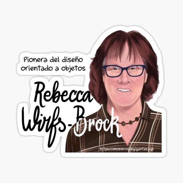 Rebecca Wirfs-Brock Sticker