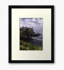 Dunluce Coastal View Framed Print