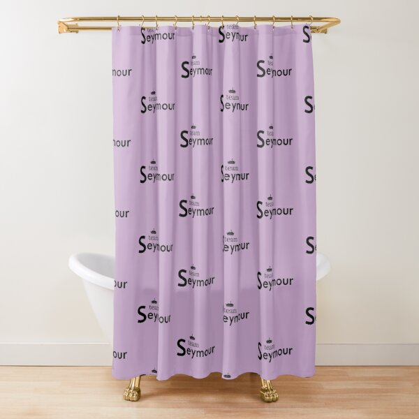 Team Jane Seymour Six Wives of Henry VIII Tudor Queen slogan Shower Curtain