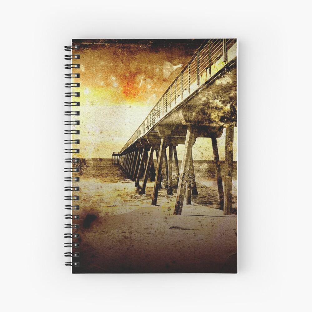 Pacific Pier Spiral Notebook