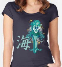 Soldier of the Sea & Embrace Women's Fitted Scoop T-Shirt