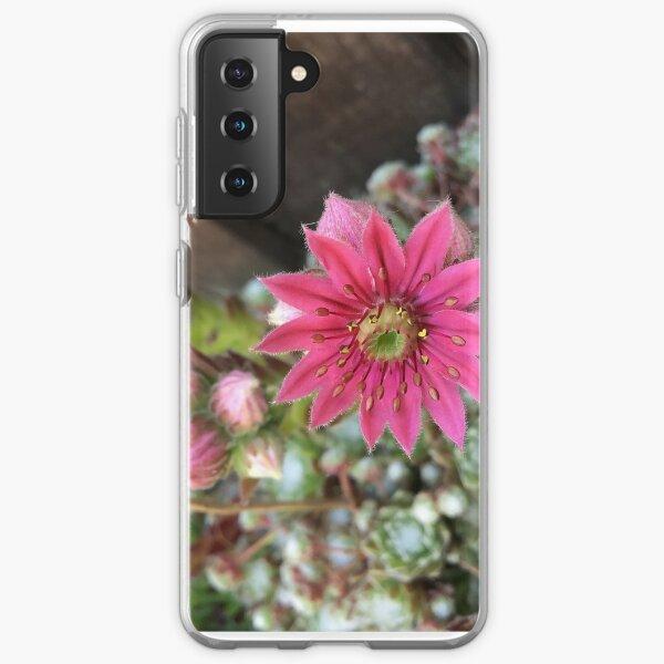 Houseleek flower Samsung Galaxy Soft Case