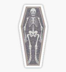 Skeleton Crew pattern Sticker