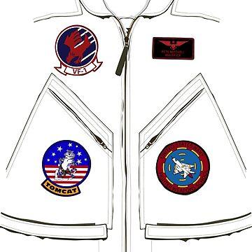 Maverick's Flight Suit by VASSdesign