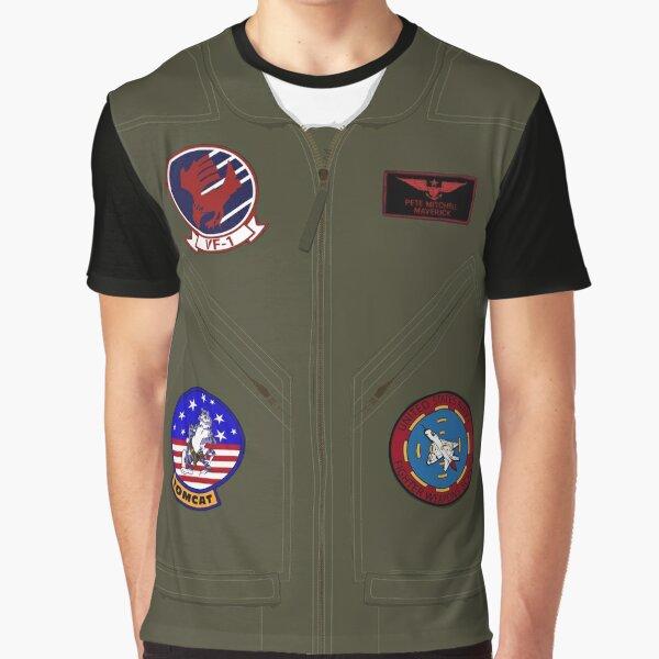 Maverick's Flight Suit Graphic T-Shirt