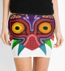 Watercolour majora's mask Mini Skirt