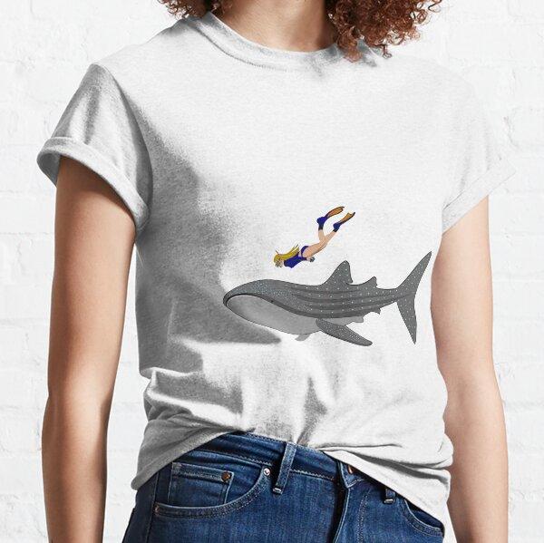Swimming with Whaleshark Classic T-Shirt