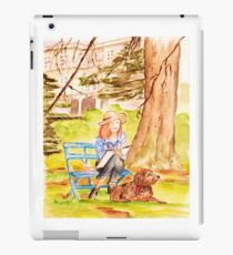 Painting in the Park iPad Case/Skin