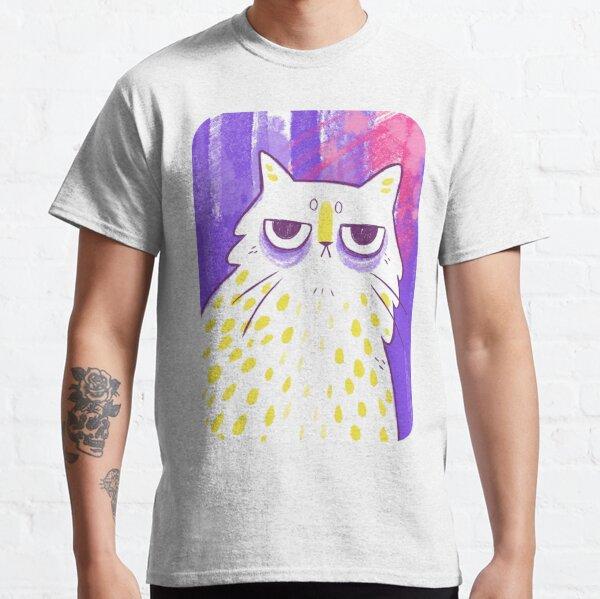 Grumpy Expressive Kitty  Classic T-Shirt