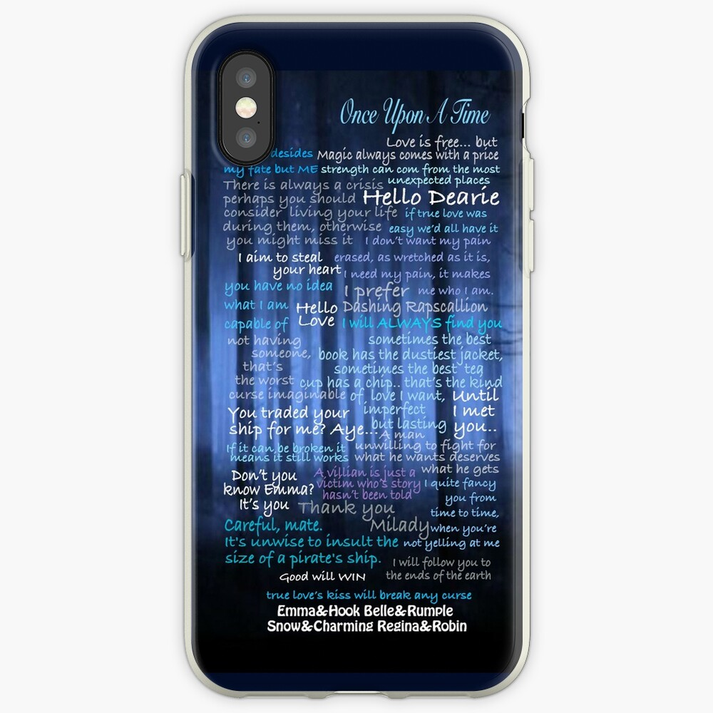 Once Upon A Time Quotes iPhone Case & Cover