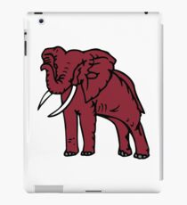 Crimson Elephant iPad Case/Skin