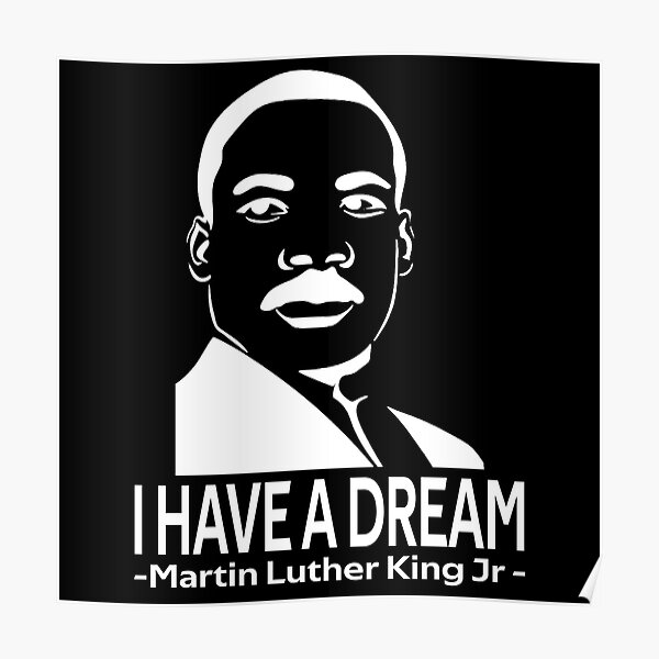 quotes by martin luther king jr Poster