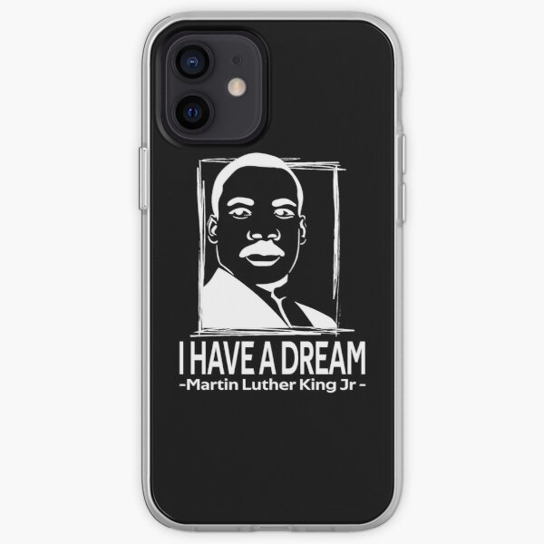 quotes by martin luther king jr iPhone Soft Case