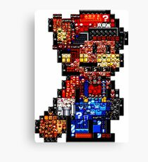 Mario from mario's Canvas Print