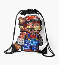 Mario from mario's Drawstring Bag